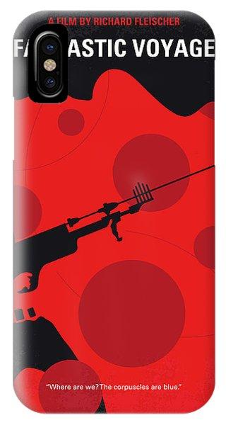 Fantastic iPhone Case - No974 My Fantastic Voyage Minimal Movie Poster by Chungkong Art