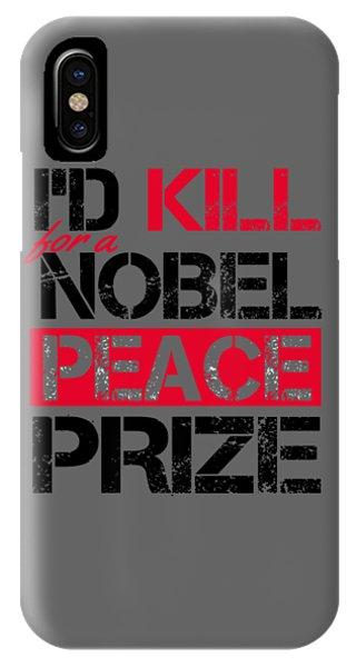 Nobel Prize IPhone Case