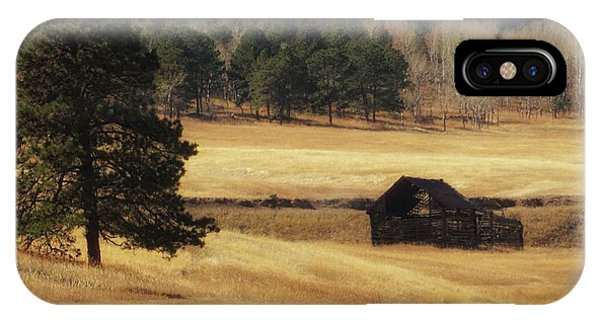 IPhone Case featuring the photograph Noble Meadow Barn by Lukas Miller