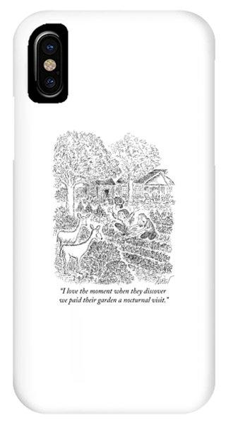 Nocturnal Visit IPhone Case