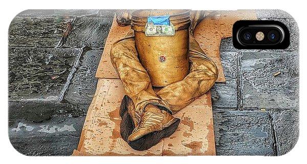 Nola Street Art Alive  IPhone Case