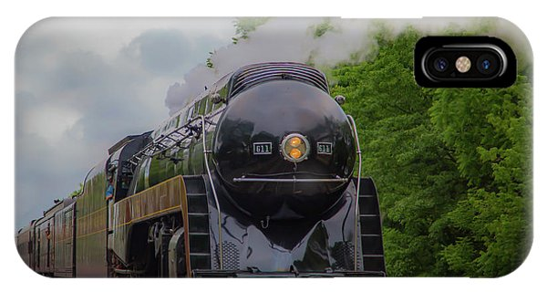 Norfolk And Western 611 IPhone Case