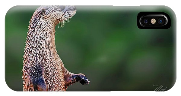 Norman The Otter IPhone Case