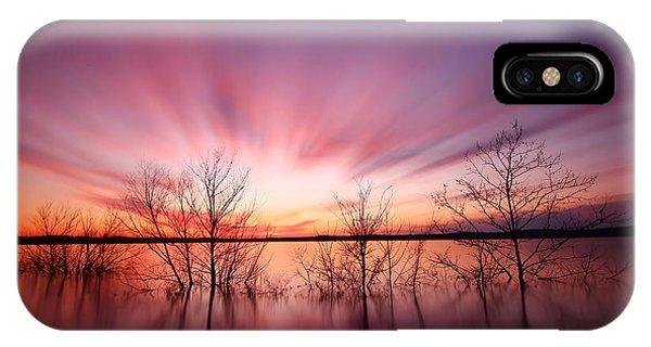 Beautiful Sunrise iPhone Case - North Carolina Sunset by Matthew Junker