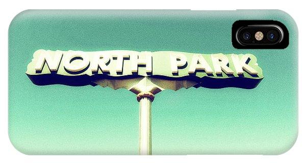 North Park Vintage IPhone Case