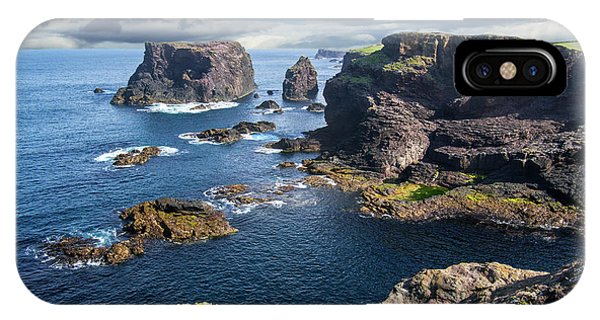 Northmavine Coast, Shetland Isles IPhone Case