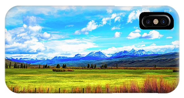 IPhone Case featuring the photograph Northwest Wyoming Afternoon by Mike Braun