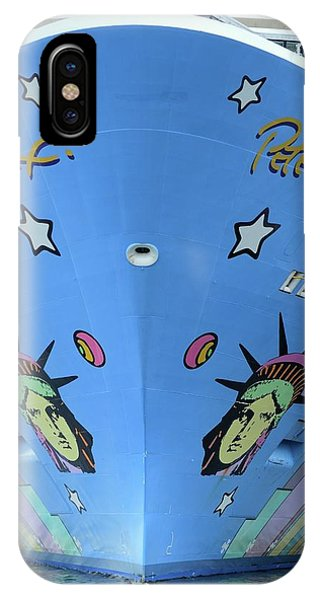 IPhone Case featuring the photograph Norwegian Breakaway Bow by Bradford Martin