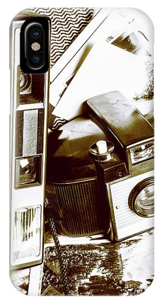 Vintage Camera iPhone Case - Nostalgic Travels by Jorgo Photography - Wall Art Gallery