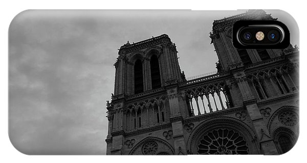 IPhone Case featuring the photograph Notre Dame Cathedral by Edward Lee