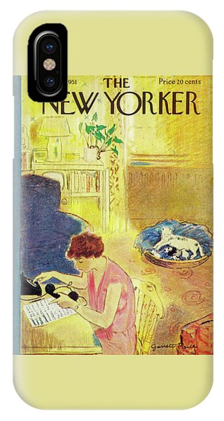 New Yorker November 10, 1951 IPhone Case