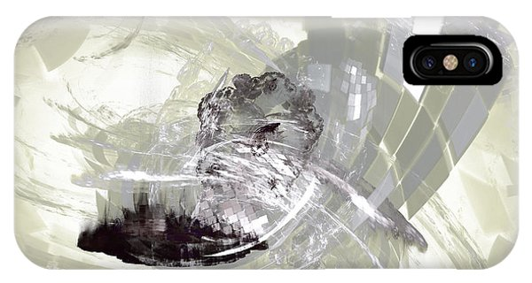IPhone Case featuring the digital art Nuclear Power by Jeff Iverson
