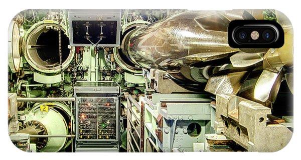 Nuclear Submarine Torpedo Room IPhone Case