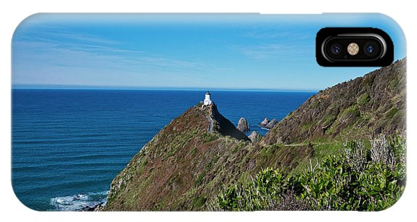 IPhone Case featuring the photograph Nugget Point Lighthouse 3 - New Zealand by Steven Ralser