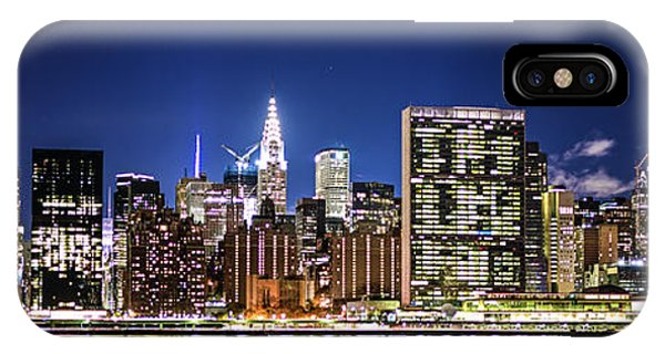IPhone Case featuring the photograph Nyc Nightshine by Theodore Jones