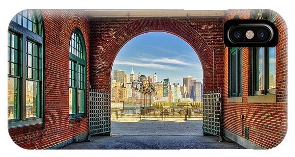 iPhone Case - Nyc Skyline View by Susan Candelario