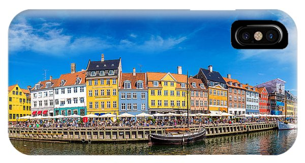 Historic House iPhone Case - Nyhavn District Is One Of The Most by S-f