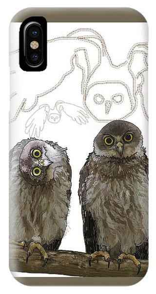 O Is For Owl IPhone Case