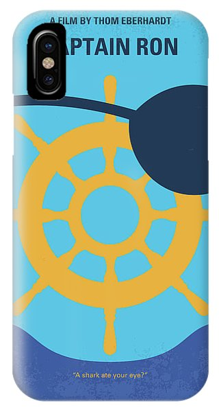 Chicago Art iPhone Case - No1031 My Captain Ron Minimal Movie Poster by Chungkong Art