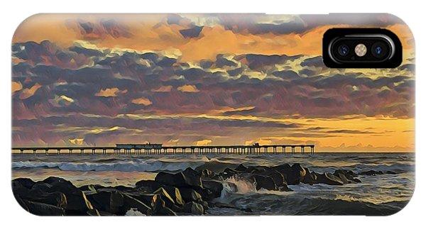 Ob Sunset No. 3 IPhone Case