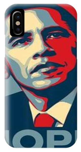 Sports Clothing iPhone Case - Obama The Usa  by Leo Kelo