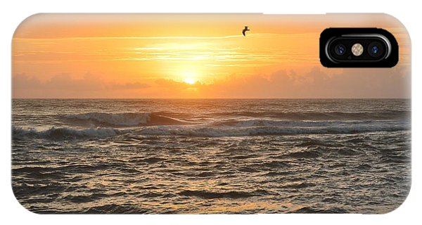 IPhone Case featuring the photograph Obx Sunrise 9/17/2018 by Barbara Ann Bell