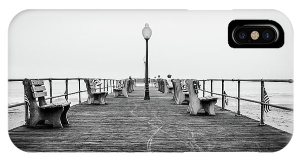 IPhone Case featuring the photograph Ocean Grove Pier 1 by Steve Stanger