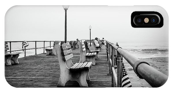 IPhone Case featuring the photograph Ocean Grove Pier 2 by Steve Stanger