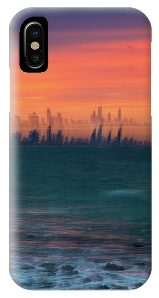 Qld iPhone Case - Ocean Motion by Az Jackson