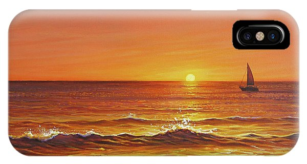 Ocean Of Fire IPhone Case