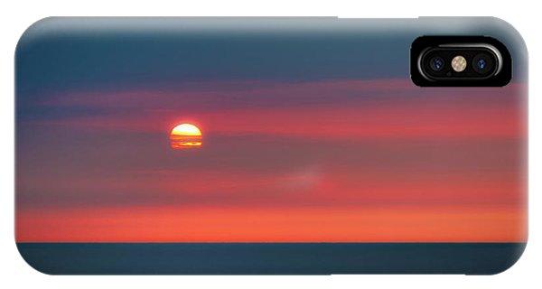 Pacific Ocean iPhone Case - Ocean Sunrise by Tom Mc Nemar
