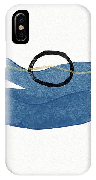 Zen iPhone Case - Ocean Zen 1- Art By Linda Woods by Linda Woods