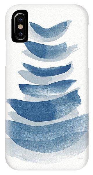 Zen iPhone Case - Ocean Zen 2 - Art By Linda Woods by Linda Woods