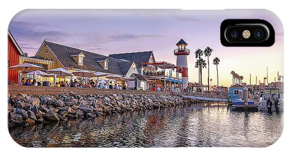 iPhone Case - Oceanside Harbor by Ann Patterson