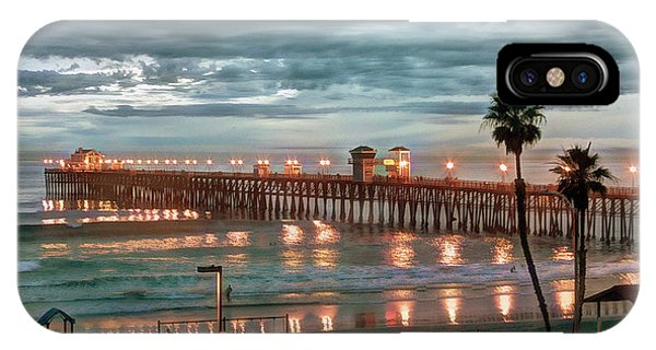 iPhone Case - Oceanside Pier At Dusk by Ann Patterson