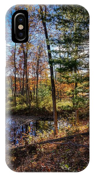 October Late Afternoon IPhone Case