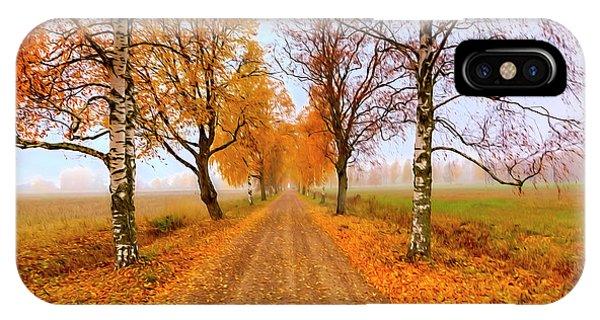 Fall Colors iPhone Case - October Morning 6 by Veikko Suikkanen