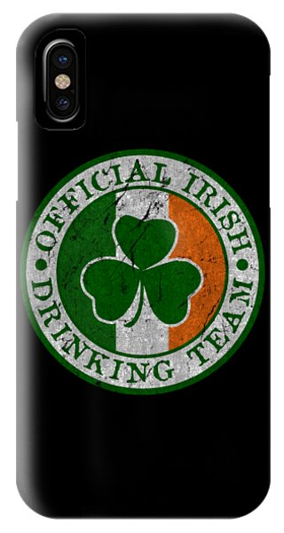 St. Patricks Day iPhone Case - Official Irish Drinking Team by Flippin Sweet Gear