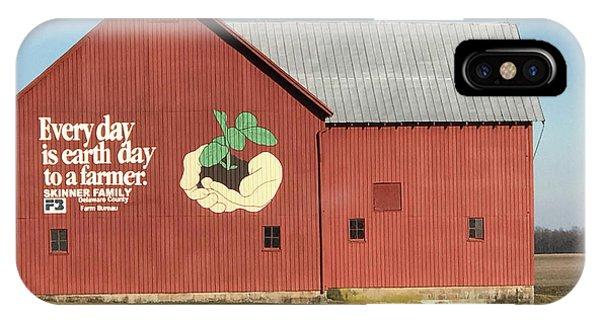 Ohio Barn  IPhone Case