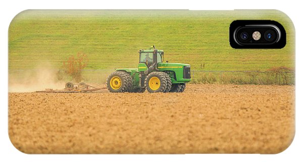 IPhone Case featuring the photograph Ohio Farmer by Dan Sproul