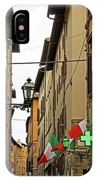 iPhone Case - Old Alley In Rome by Kathy Yates