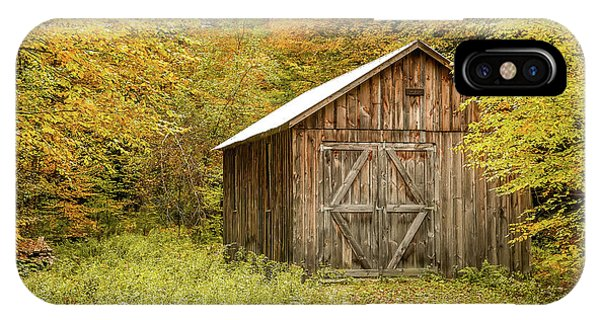 Old Barn New England IPhone Case