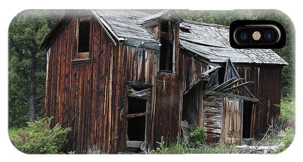 Old Cabin - Elkhorn, Mt IPhone Case