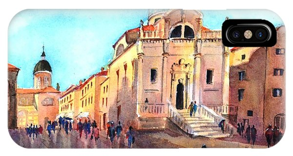 Old City Of Dubrovnik IPhone Case