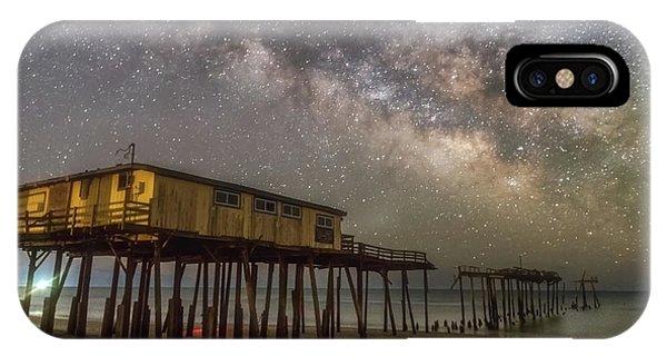 Old Frisco Pier IPhone Case