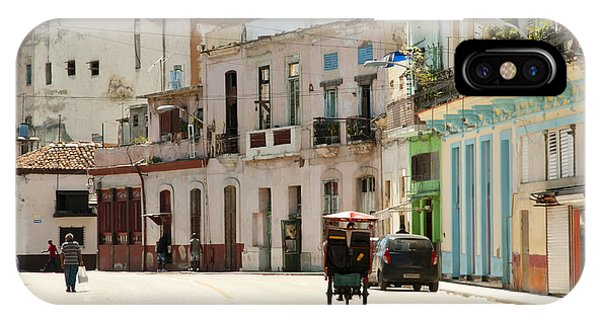 Historic House iPhone Case - Old Havana - Cuba by Adwo