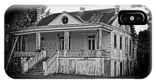 Old House Black And White IPhone Case