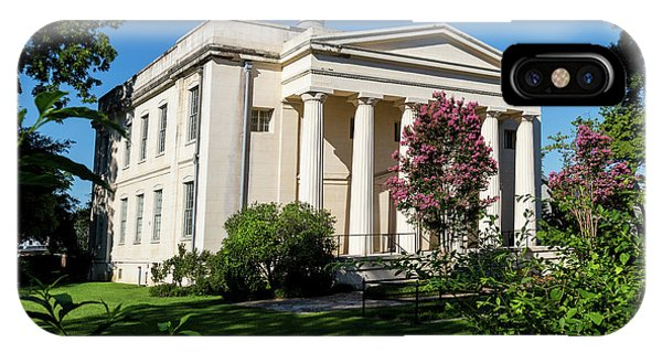 Old Medical College - Augusta Ga IPhone Case