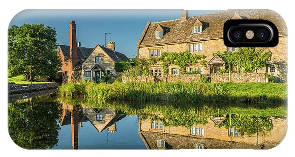 Old Mill, Lower Slaughter, Gloucestershire Phone Case by David Ross
