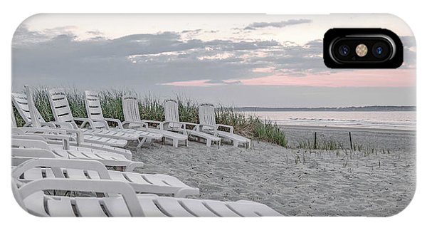 Orchard Beach iPhone Case - Old Orchard Beach Tranquil Morning by Betsy Knapp